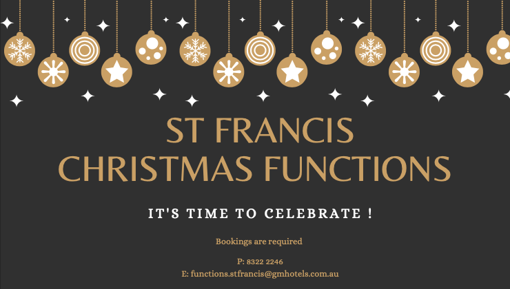 St Francis Winery Events